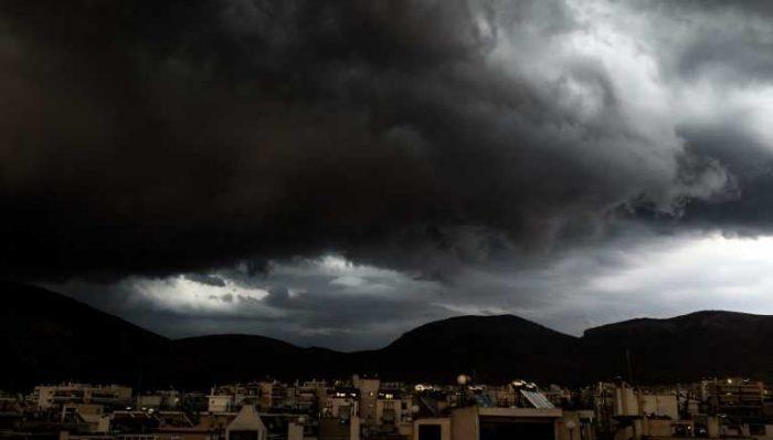 Καιρός Έρχεται νέο κύμα με καταιγίδες και ισχυρούς ανέμους –