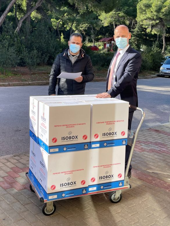 Pharmaserve Lilly delivery to EODY 1