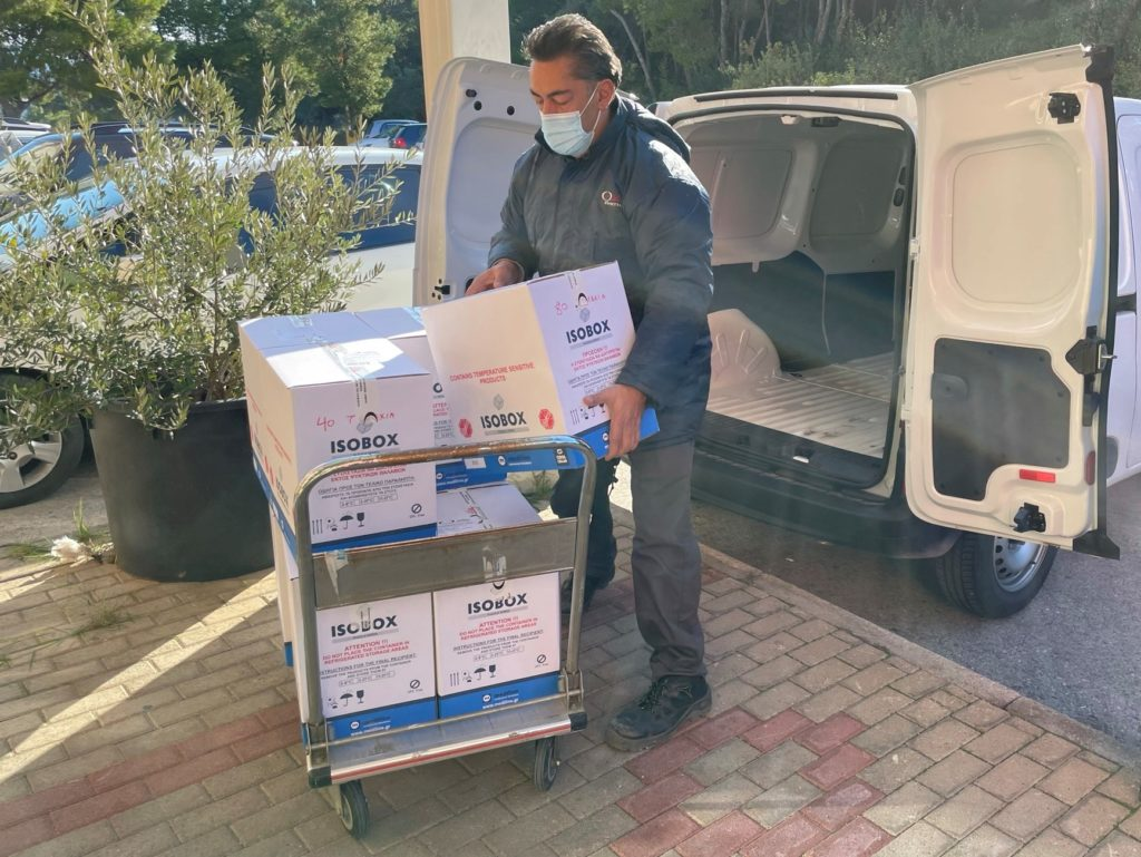 Pharmaserve Lilly delivery to EODY 3