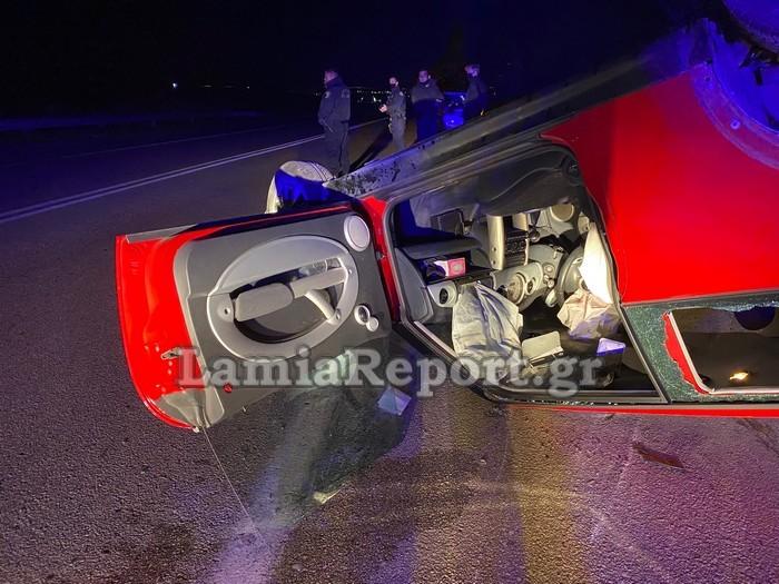 1618137429 158 Λαμία Ανατριχιαστικό τροχαίο – Όχημα πέρασε στο αντίθετο ρεύμα pics