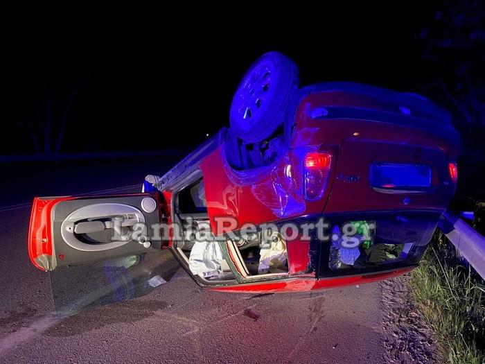 1618137429 896 Λαμία Ανατριχιαστικό τροχαίο – Όχημα πέρασε στο αντίθετο ρεύμα pics