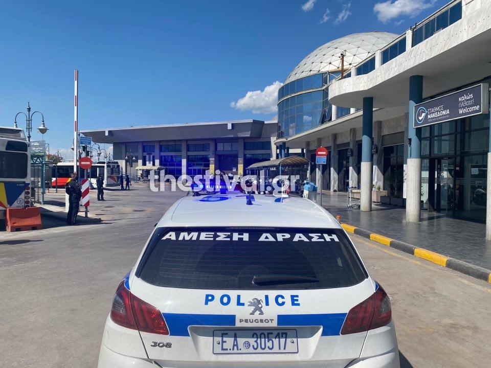 1619046259 62 Θεσσαλονίκη Τηλεφώνημα για βόμβα στο ΚΤΕΛ Μακεδονία pics