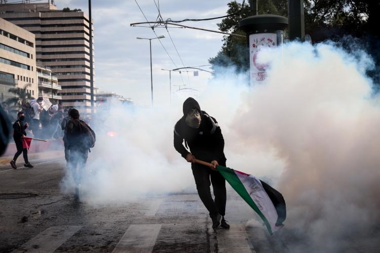 Επεισόδια έξω από την πρεσβεία του Ισραήλ στην Ελλάδα